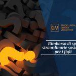 Studio legale associato Gerosa e Vergottini - Rimborso di spese straordinarie sostenute per i figli