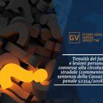 Studio legale associato Gerosa e Vergottini - Tenuità del fatto e lesioni personali connesse alla circolazione stradale (commento alla sentenza della Cassazione penale 52354/2018)